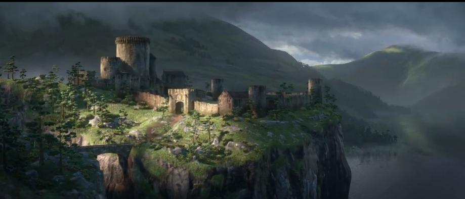 Pixar Brave Trailer 2 | Disney brave. Disney castle. Disney animated movies