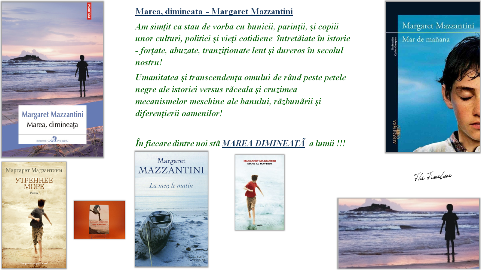 Wrinkles on my Timeline Books: Marea, dimineaţa - Margaret Mazzantini