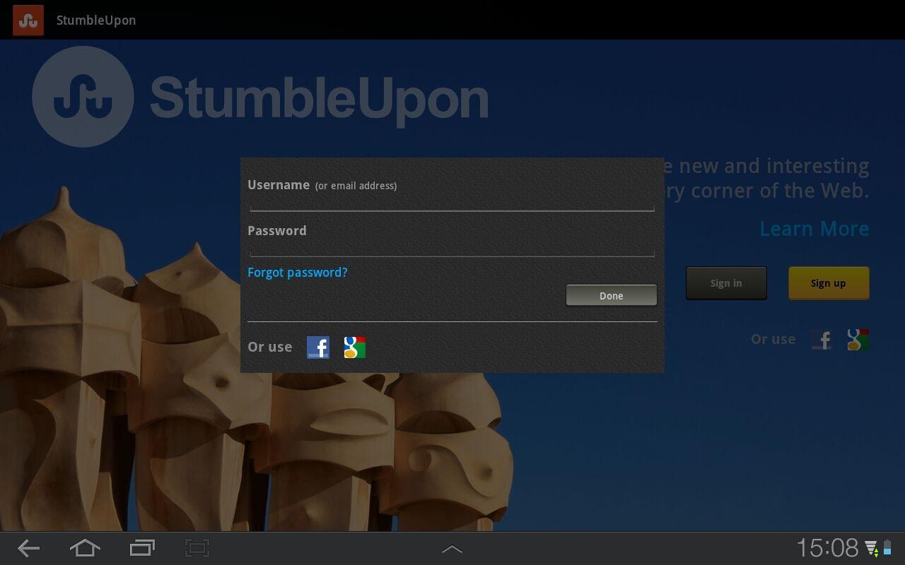 StumbleUpon (Android - tablet)  http://getap.ps/+100015491
