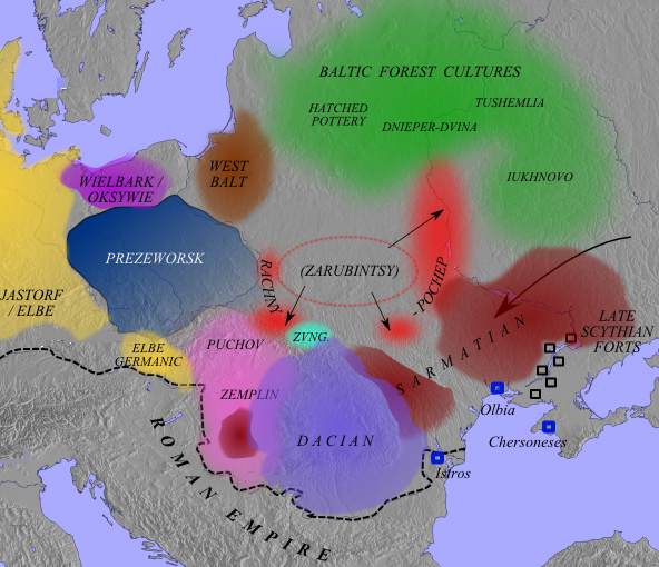 The archaeological cultures of eastern europe in the late 1st the archaeological cultures of eastern europe in the late 1st century ad the lipia culture is located in the northern part of the dacian cultural area publicscrutiny Images