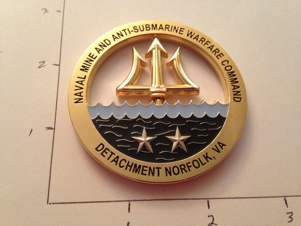Details about USN Navy Mine & Anti-Submarine War CPO Chief Petty
