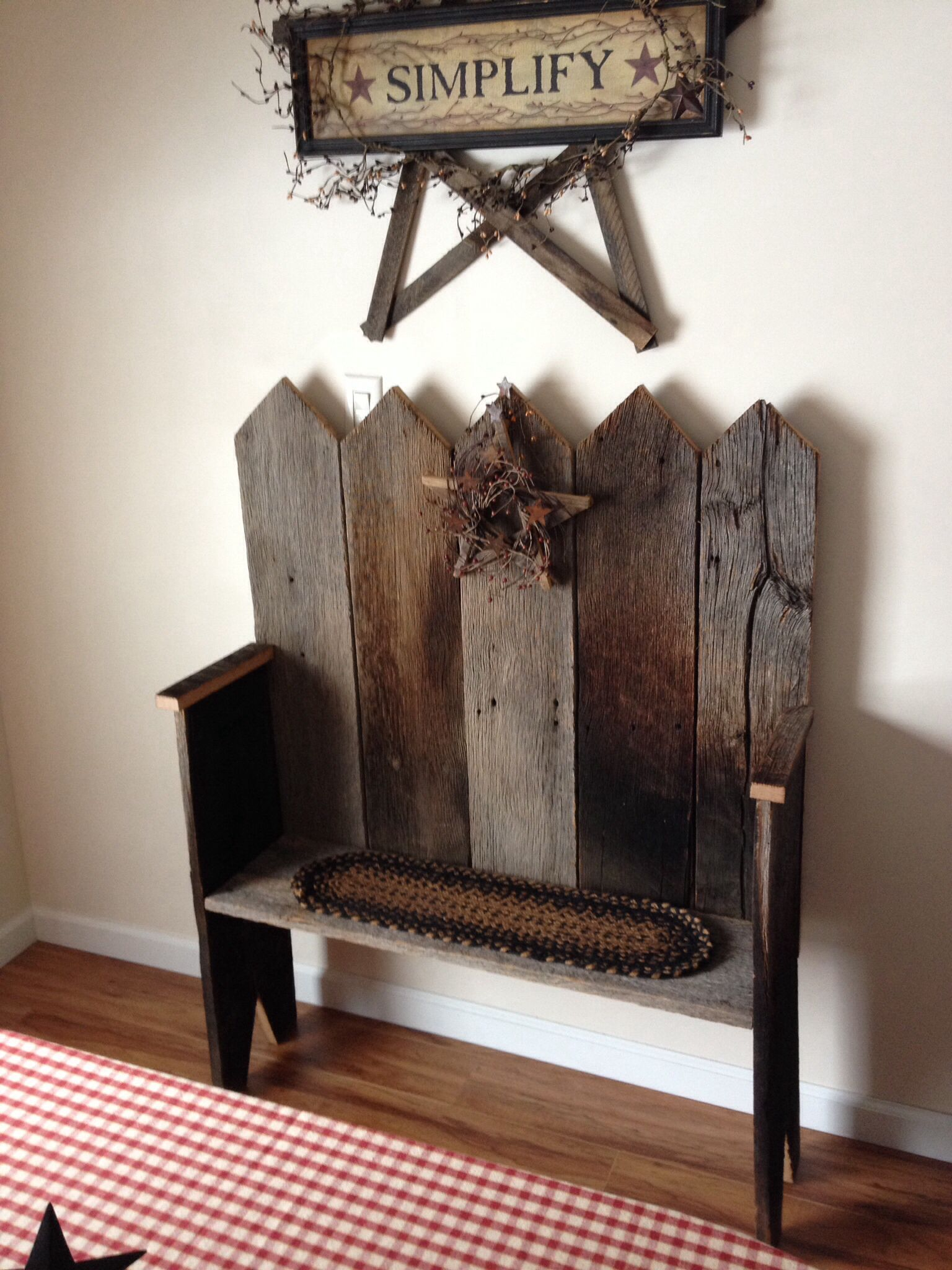 Made Out Of Old Barn Siding Wood Projects Bat Makeover