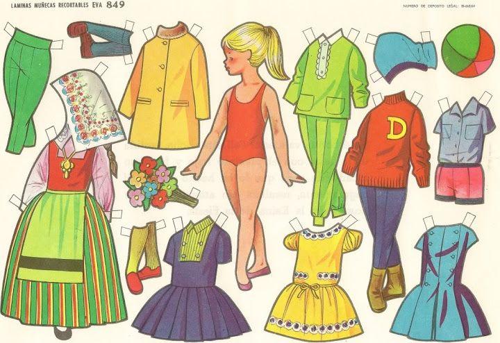 muñecas recortables, paper dolls, Бумажные куклы , bambole da carta,