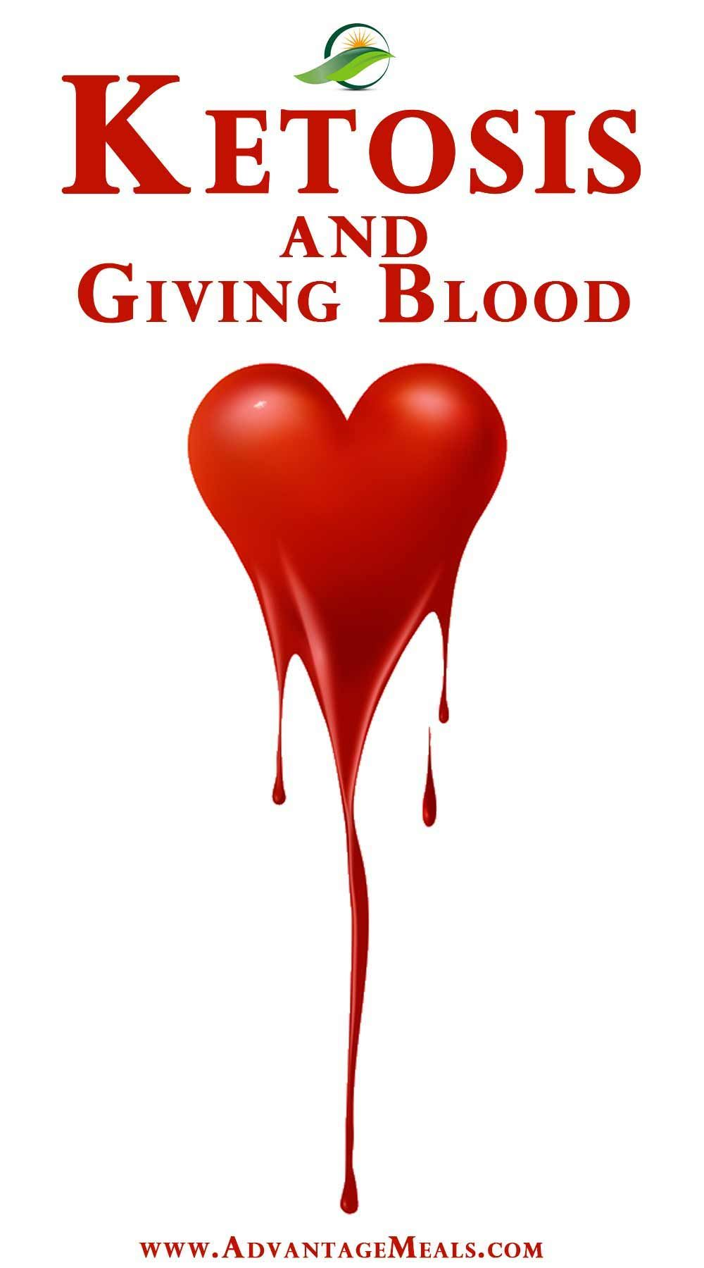 keto diet and donating blood