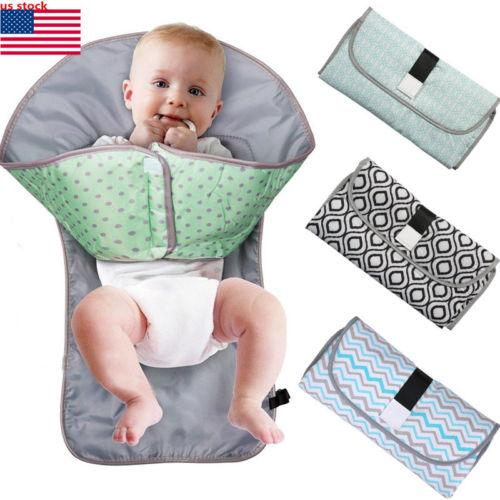 3 In 1 Baby Foldable Changing Pad Baby Diaper Changing Pad Diaper Changing Baby Diapers