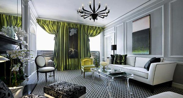 15 Art Deco Inspired Living Room Designs | Art deco home ...