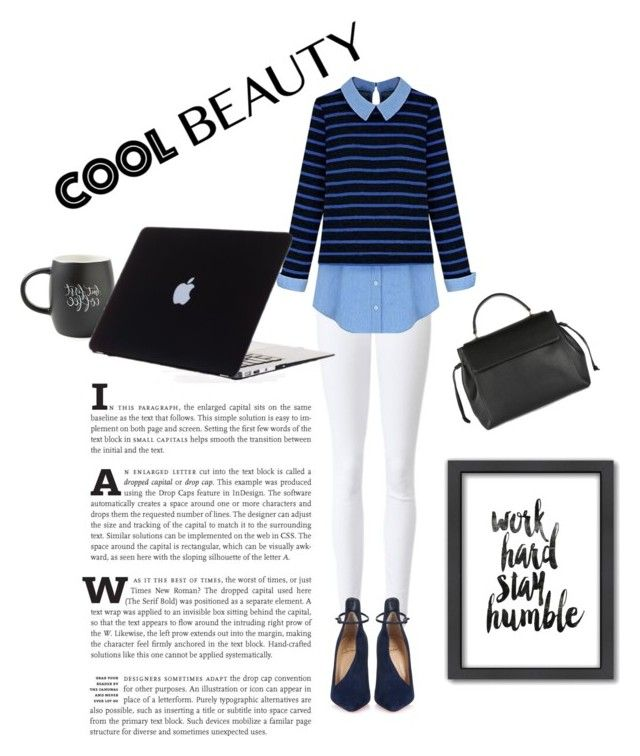 """""""workhard"""" by bluedewred ❤ liked on Polyvore featuring Christian Louboutin, Lanvin, Printable Wisdom and Americanflat"""