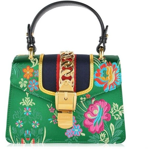 Gucci Floral Print Mini Shoulder Bag F72EN