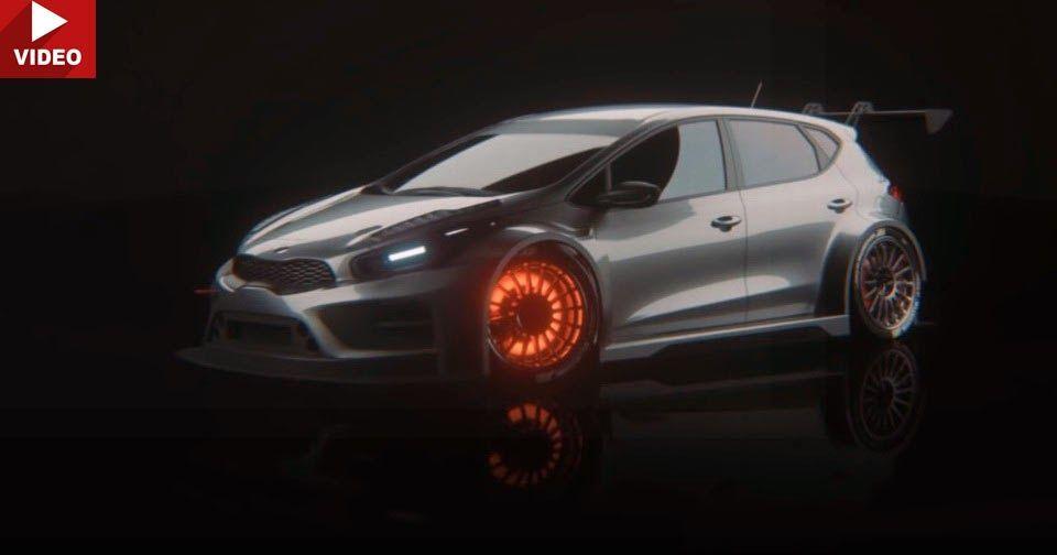 Kia Cee'd GT Gets Its Racing Suit Ready For TCR Series #Kia #Kia_Cee_d
