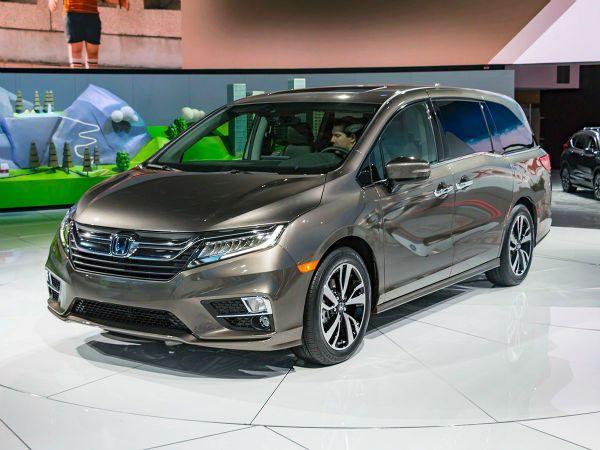 2018 Honda Odyssey Awd Honda Odyssey Honda Van Honda Odyssey Touring