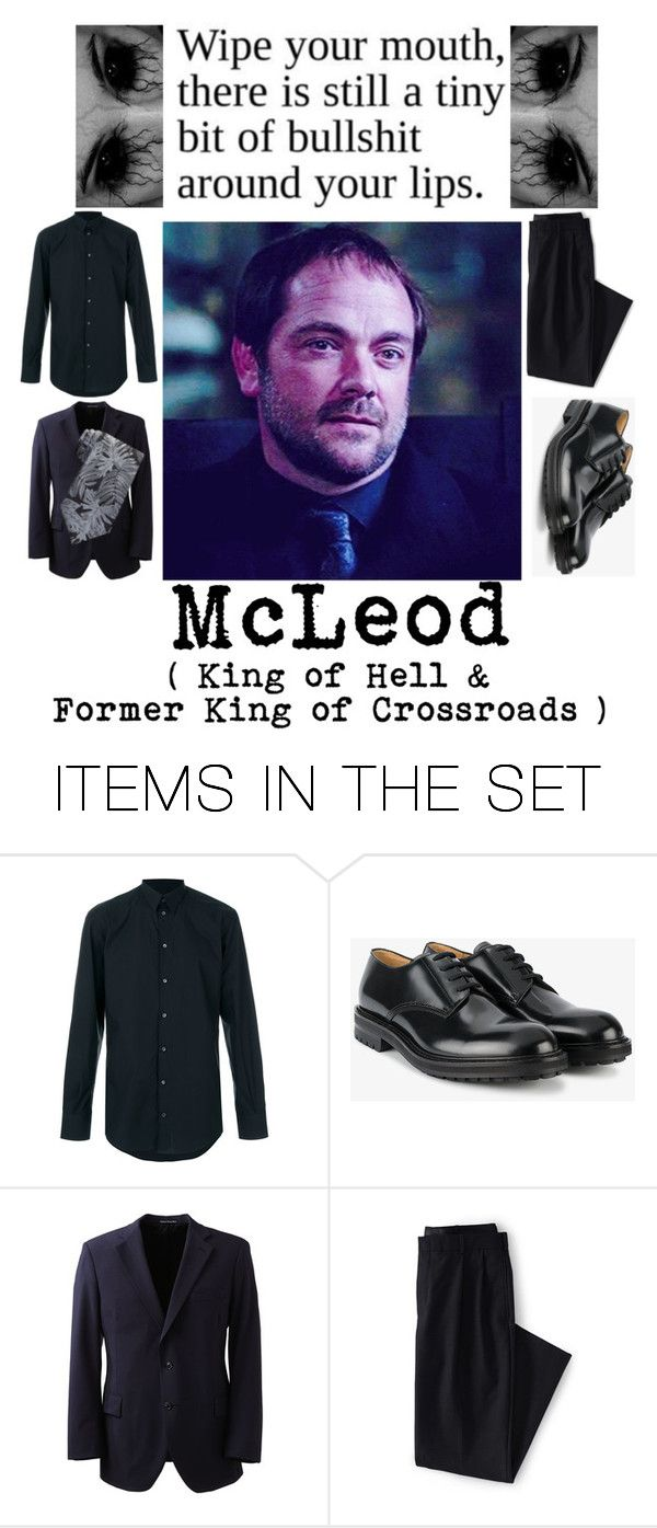 """""""CRoWLeY"""" by kaninekiller ❤ liked on Polyvore featuring art"""