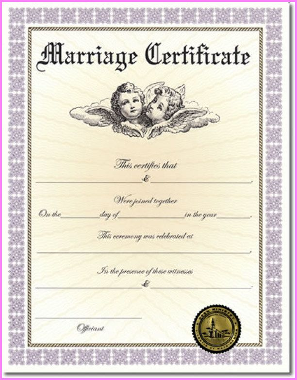 nice when will i receive my marriage certificate? | stars style