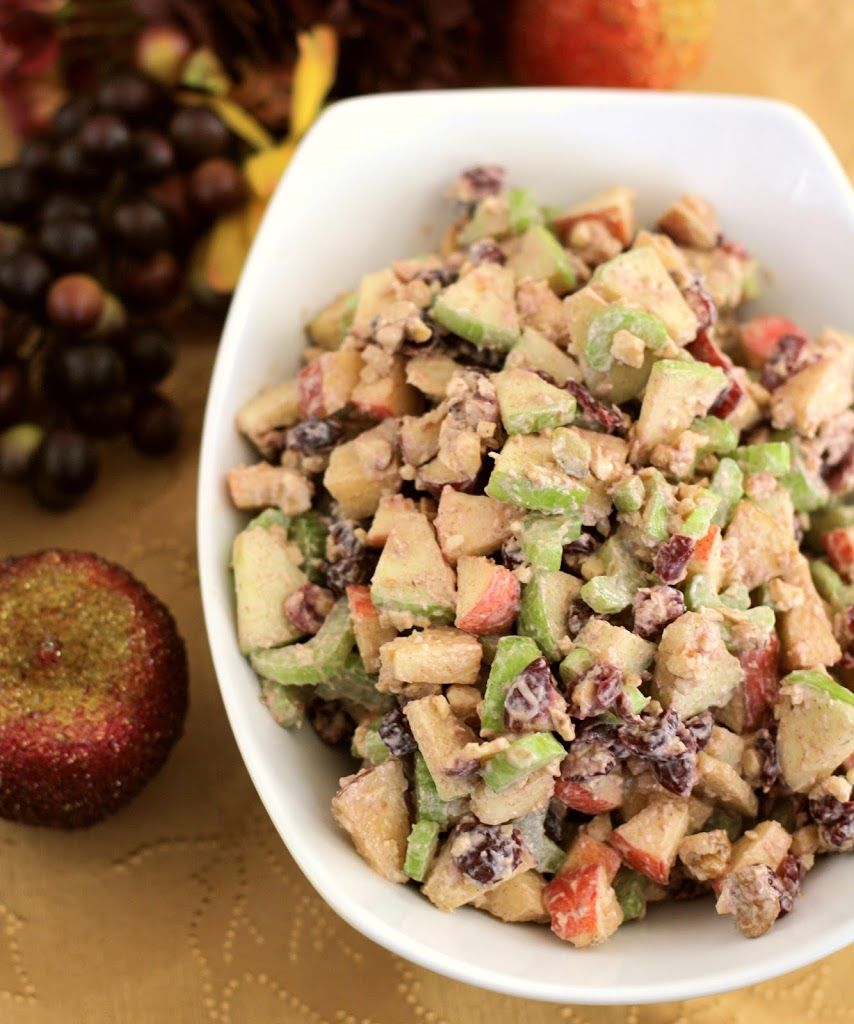 This salad is a Thanksgiving staple in our family. It's sweet, light and is a perfect accompaniment to all the other holiday favorites on the table. Waldorf Cinnamon Apple Salad 3-5 apples, diced but not peeled {about 7-8 cups diced apple} 1 cup sliced celery 1 cup Craisins 1 cup chopped walnuts dressing: 1 small...Read More »
