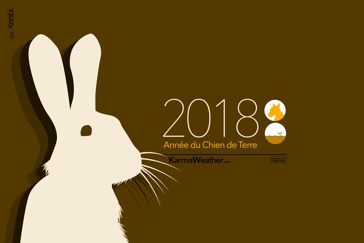 Horoscope chinois 2018 du Lapin Horoscope chinois 2018