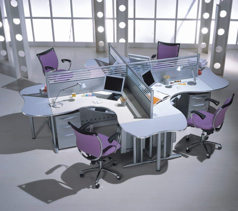 Workstation provides humphooks for an agile work area for Office inspiration