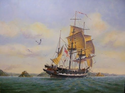 Onthisday In 1831 Hms Beagle Left Plymouth And Set Out On Her