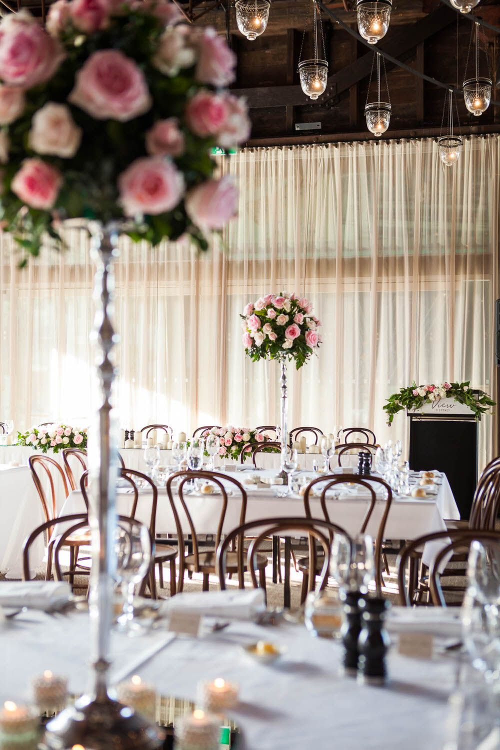 Romantic Pink and Silver Wedding #wedding #color #weddings