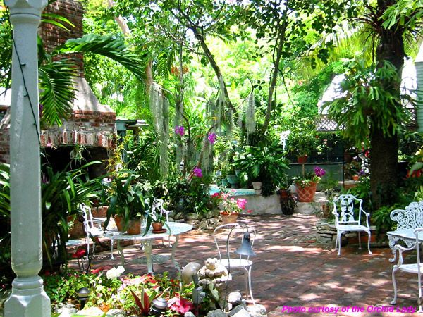 Key West garden oasis | Magical Inspirations for the Soul ...