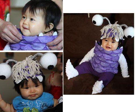 bernina halloween 2011 belinda boo costume - Monster Inc Halloween Costumes Boo
