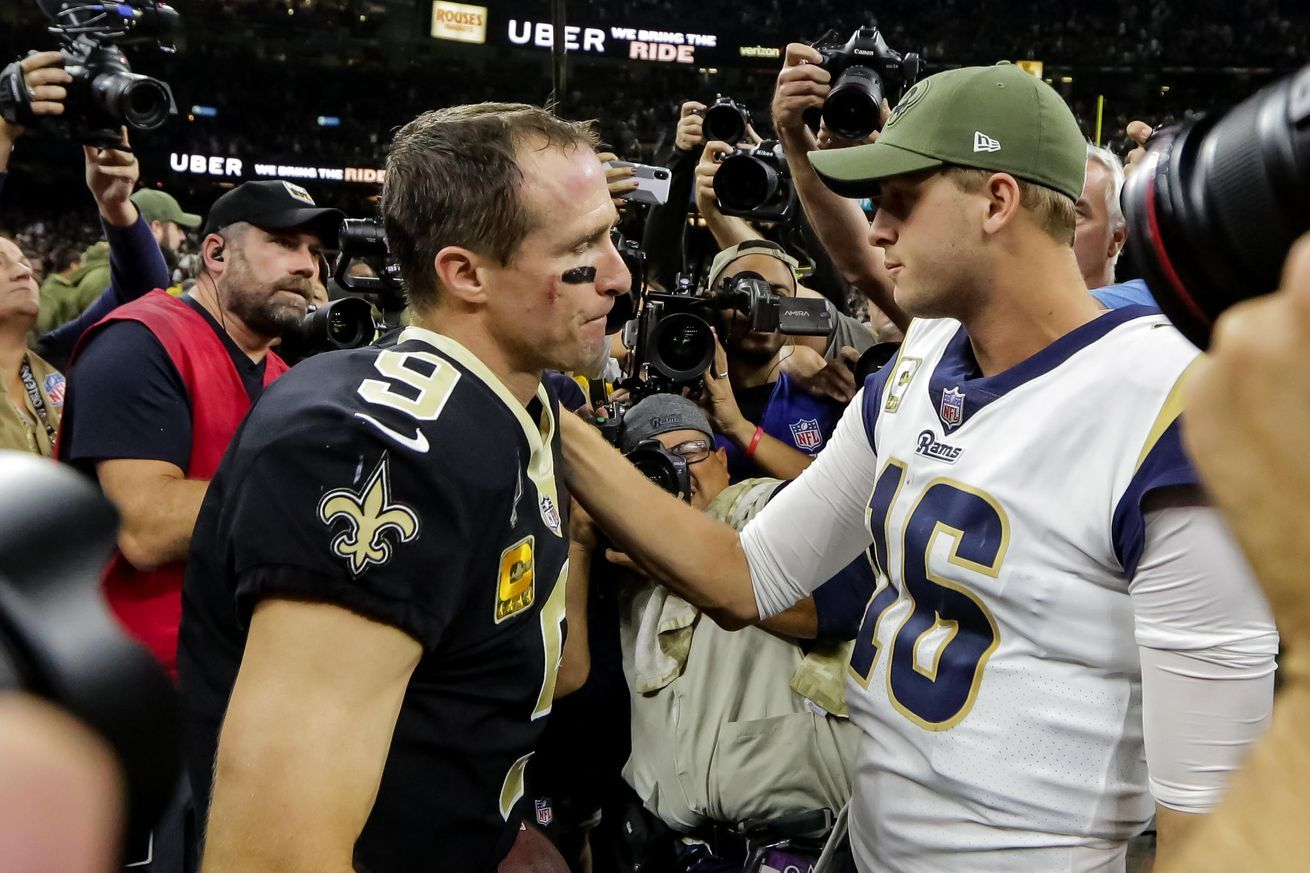 RamsSaints Five Saints to watch revisited Nfl playoffs