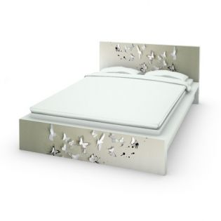 Struttura Letto MALM Ikae + Butterfly Birds DESIGNED BY Million Dollar .