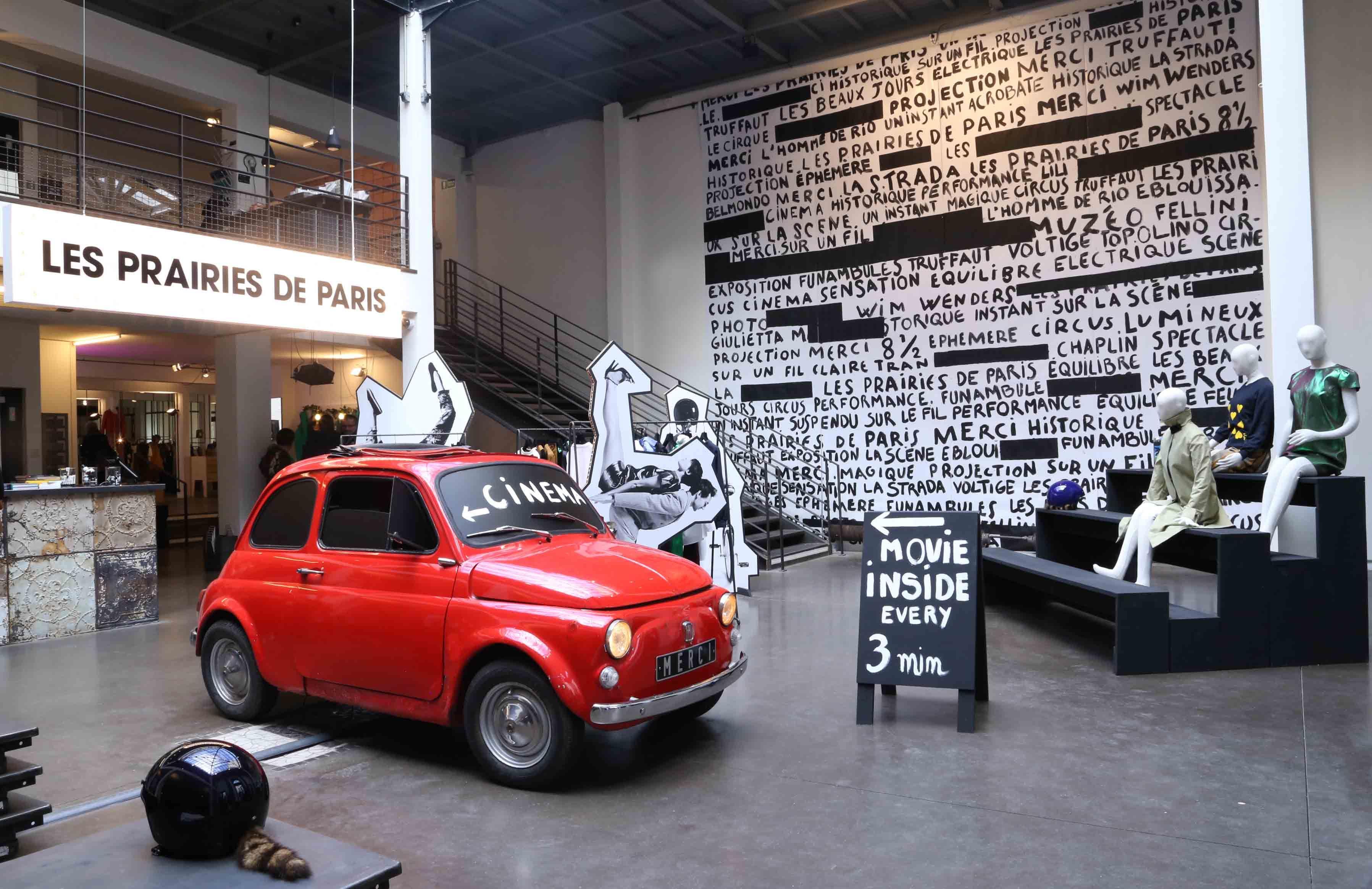 Les Prairies De Paris Merci Paris Paris Impression Poster