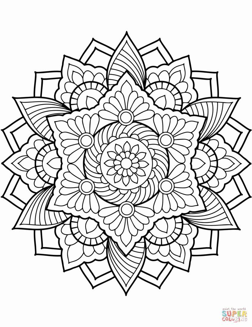 Mandalas For Experts Mandala 38 Mandala Coloring Pages Mandala Coloring Coloring Pages