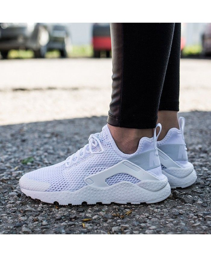 08be9723d6 Nike Air Huarache Run Ultra Breathe White Trainers | nike huarache ...