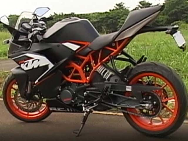 Ktm S Sporty With Rc 390 Rc 200 Http Www Ndtv Com Video Player