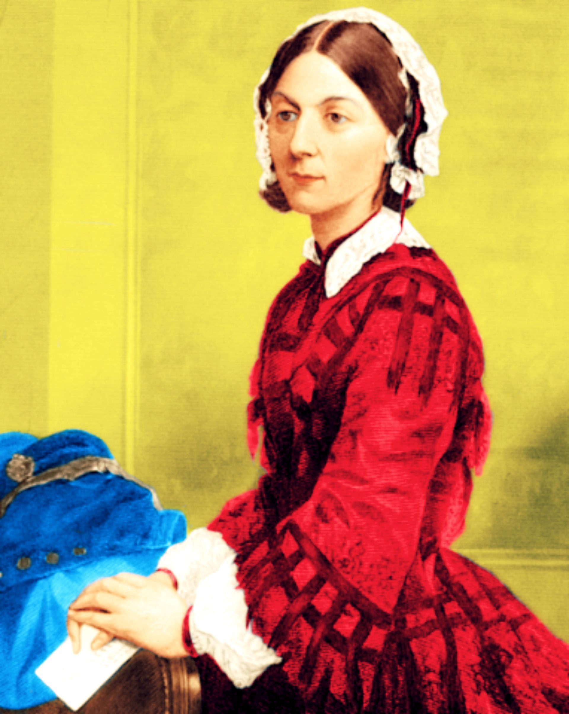 Florence Nightingale The Lady With The Lamp Founder Of