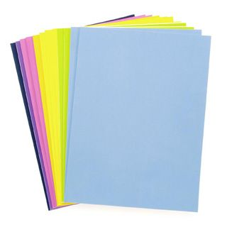 Foamies® Sticky Back Foam Sheets Value Pack - Fashion Colors - 9 x 12 inches