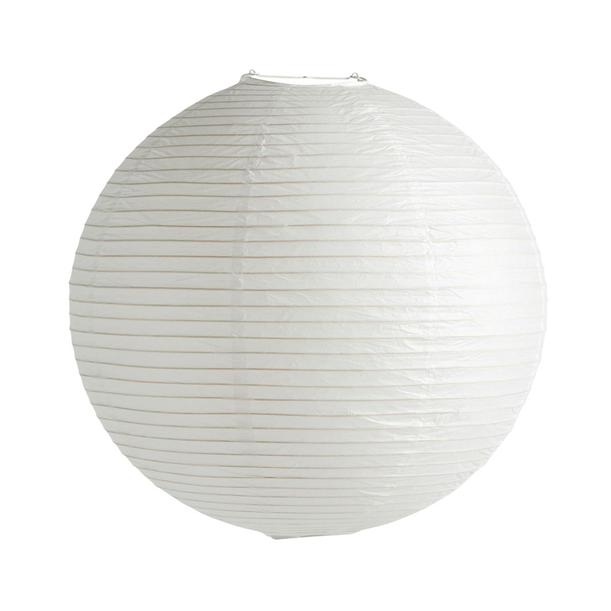 The Classic Rice Paper Shade By Hay Emits Soft Light Inspired By