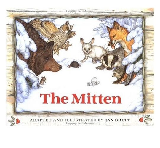 The Red Mitten Childrens Book