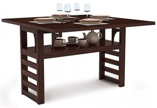 The Latest Dining Table Designs Available In Contemporary Style Goes Well  With Stylish Interiors. Buy Dining Table Online In