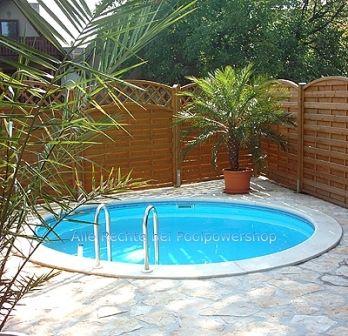 Rundbecken m tief folie 0 6 mm blau pools baths for Stahlwandpool folie