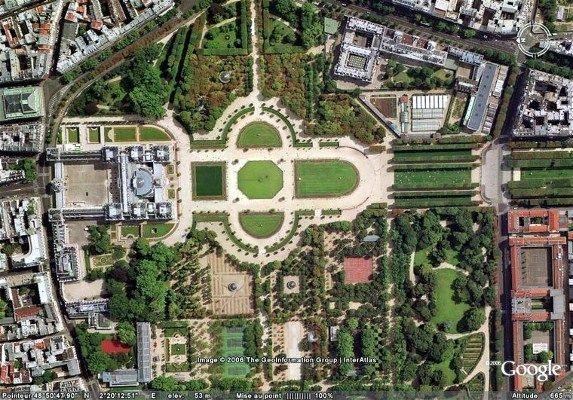 Garden of Luxemburg, (Jardin du Luxembourg). heart of Paris ...