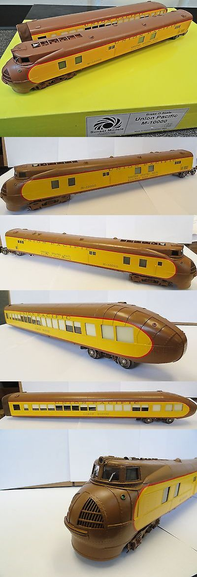 Starter Sets and Packs 81042: Sunset Models Brass Union Pacific M-10000 New! -> BUY IT NOW ONLY: $850 on eBay!