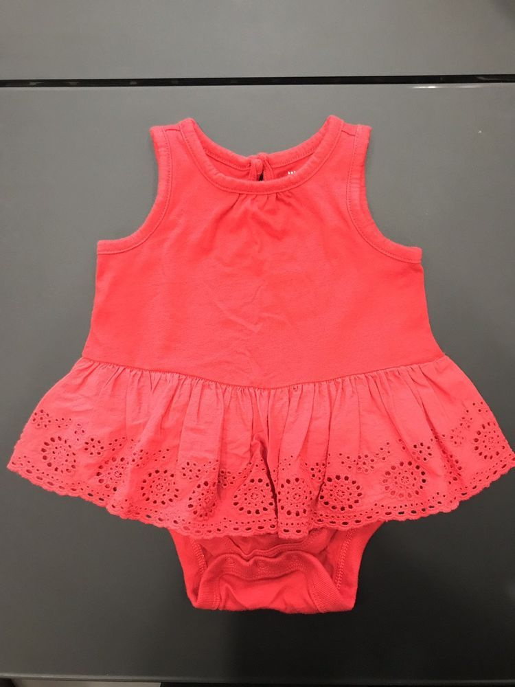 e7e0bf89cd50 GAP Baby Girl Dress 3-6 Months Red Design  fashion  clothing  shoes ...