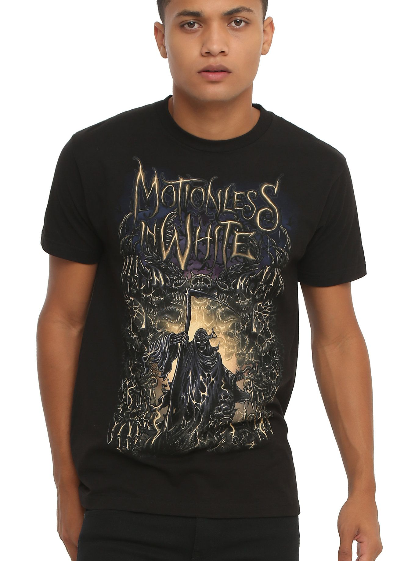 Reaper White Motionless 2019Outfits T Shirt In tQhCsrd