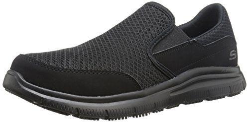 Merrell Hombres Encore Chill Resbalón-en el zapato, Black, 44 D(M) EU
