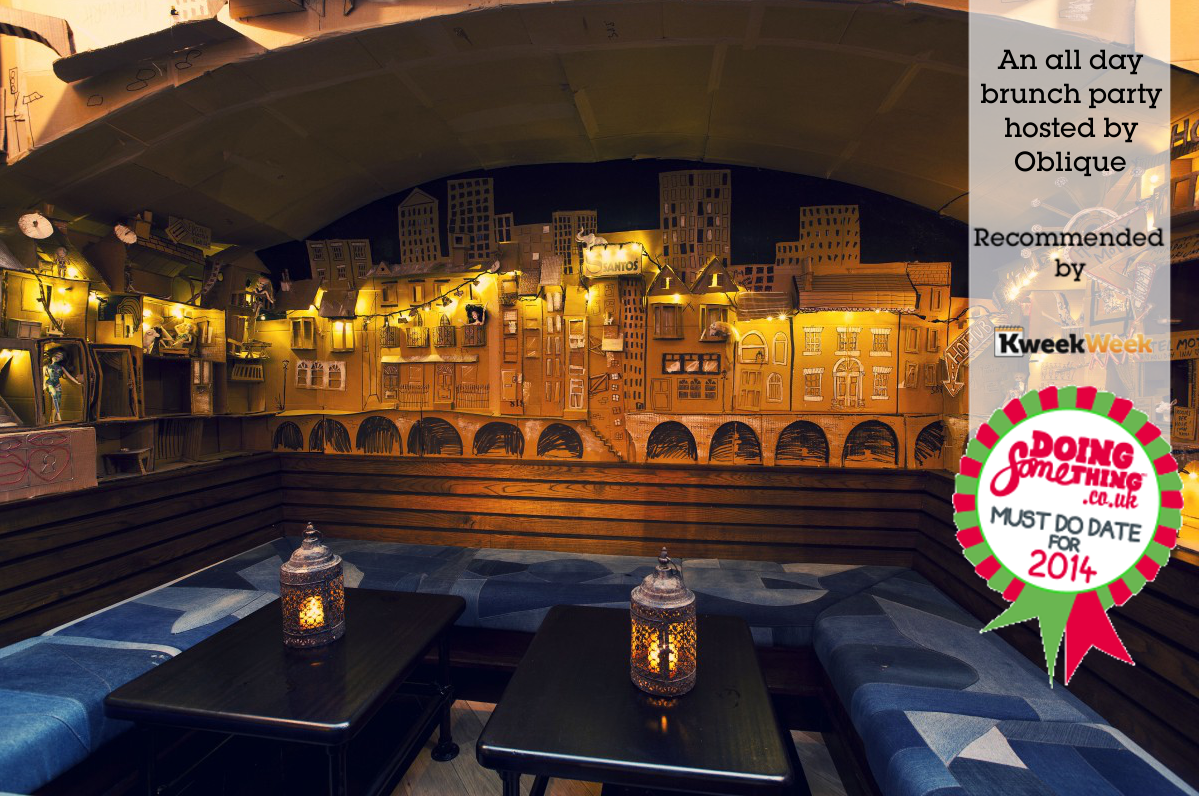 KeekWeek favourited Oblique London's all day brunches as a must do date!