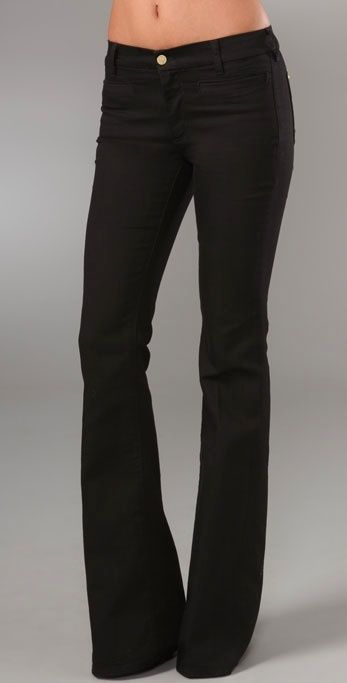 Mih Marrakesh Kick Flare Jeans MiH Jeans thestylecure.com