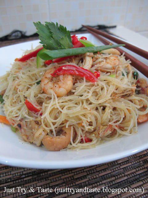 Resep Bihun Bumbu Kari Ala Thai Resep Masakan Resep Masakan Asia Masakan