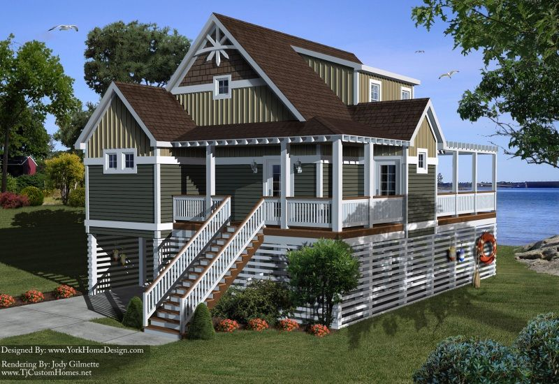 Modern beach house plans on stilts - Stilt home designs ...