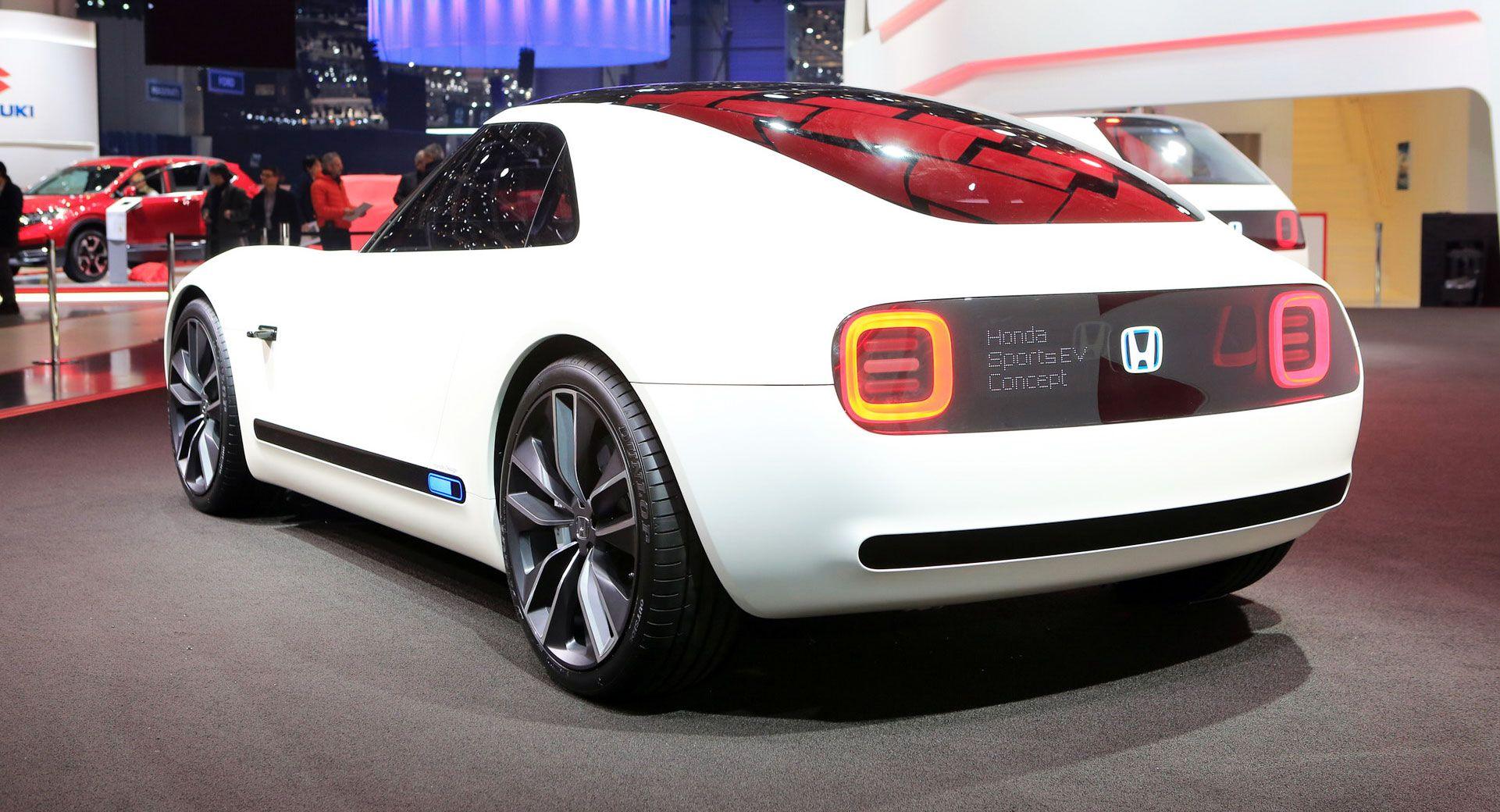Honda Imagines A Retrolicious Sports EV Coupe For 2020