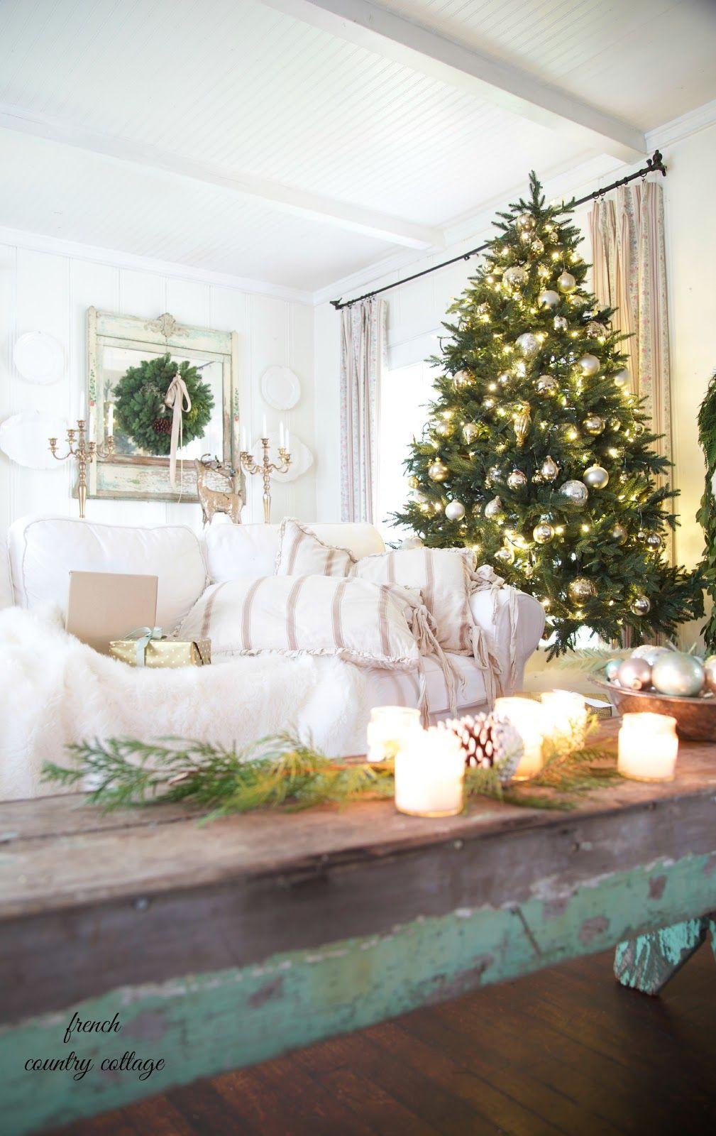 christmas home tour merry christmas cottage christmas