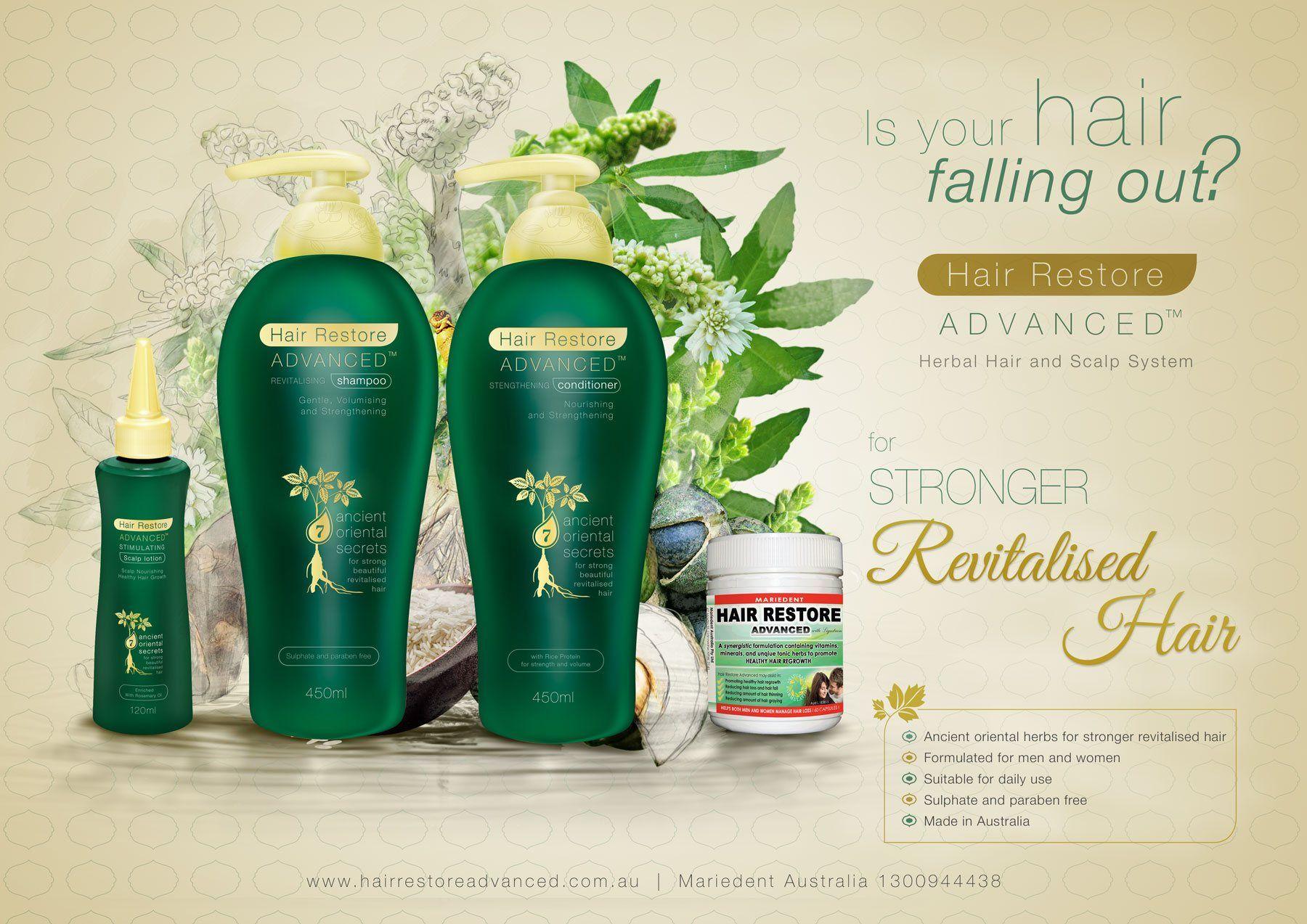 Hair Restore Advanced Leading Australian Brand of Hair