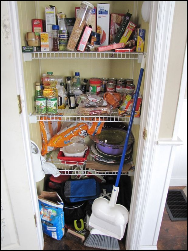 Organizing Your Heart And Home- 2011-My Pantry Makeover