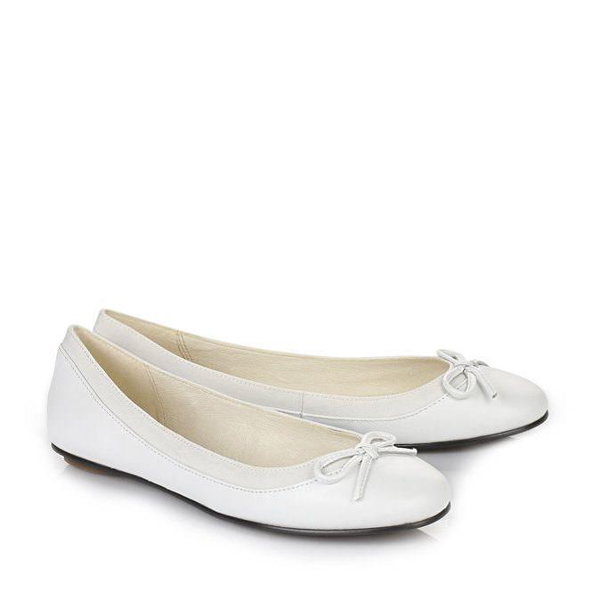 super popular 6ec9a b834e Buffalo Ballerina in weiß jetzt im BUFFALO Online-Shop ...