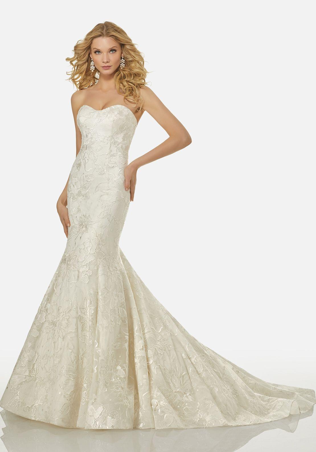 Randy Fenoli Wedding Dress 3415 Mermaid wedding dress